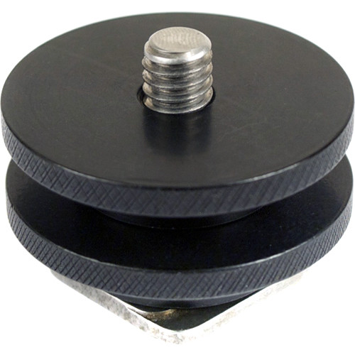 """DM-Accessories UNI-POST Universal Cold Shoe to 1/4""""-20 Male Thread Adapter"""