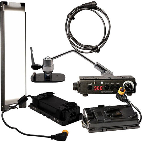DMG LUMIERE MINI Switch AC/DC Kit with Offset Mount and V-Mount Battery Plate