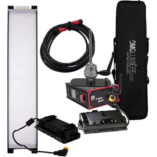 DMG LUMIERE SL1 AC Switch Kit with Wireless DMX, Lolly Pop Mount, Battery Control, Gold-Mount, & Bag