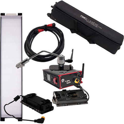DMG LUMIERE SL1 AC Switch Kit with Wireless DMX, Offset Mount, Battery Control, V-Lock Mount, & Bag