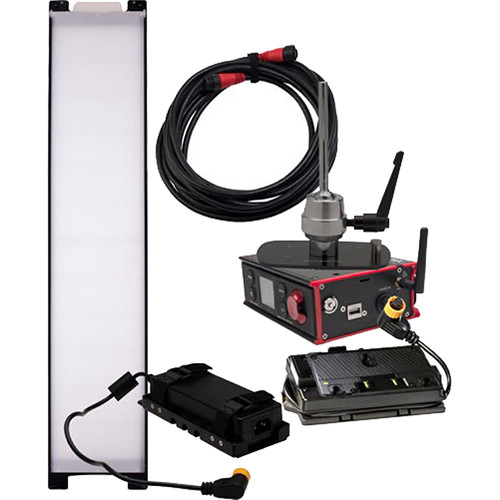 DMG LUMIERE SL1 AC Switch Kit with Wireless DMX, Lolly Pop Mount, Battery Control, & Gold-Mount