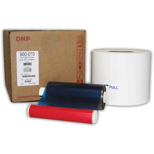 "DNP 6x8"" Media for Kodak 7000 Printer (1 Roll and 1 Ribbon)"