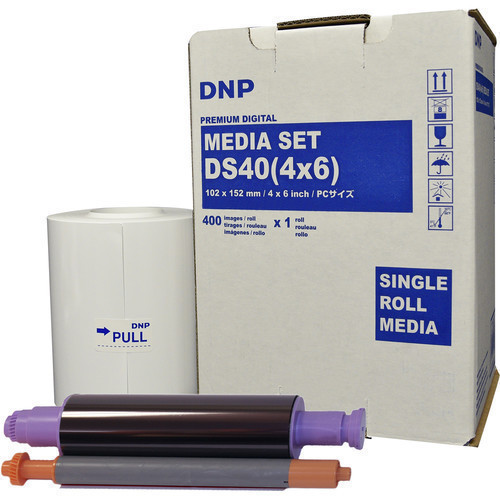 "DNP 4 x 6"" Print Pack for DS40 Printer (1-Pack)"