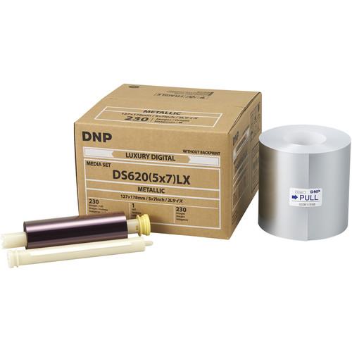 "DNP 5 x 7"" Metallic Luxury Media Set for DS620A Printer"
