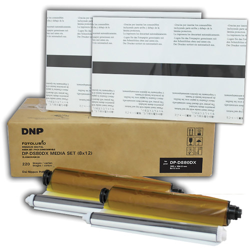 "DNP DS80D8x12 8 x 12"" Media Set for DS80DX Printer (2-Pack)"