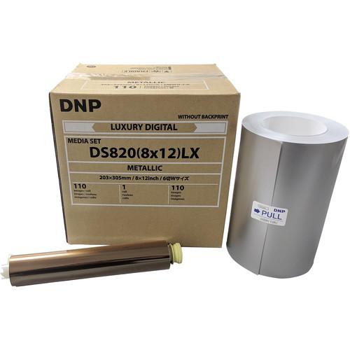 "DNP 8 x 12"" Metallic Luxury Media Set for DS820A Printer"