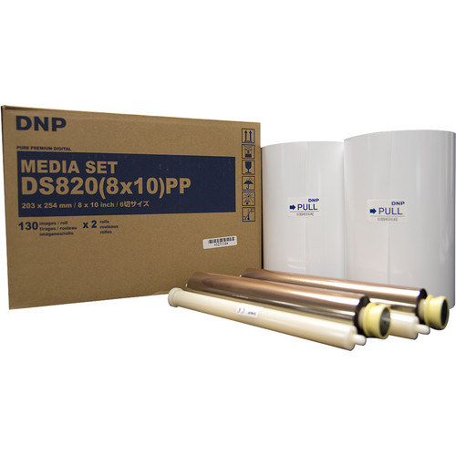 "DNP DS820(8x10)PP Pure Premium Digital Media Set (8 x 10"", 2 Rolls)"