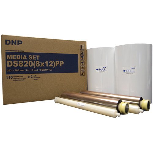 "DNP DS820(8x12)PP Pure Premium Digital Media Set (8 x 12"", 2 Rolls)"