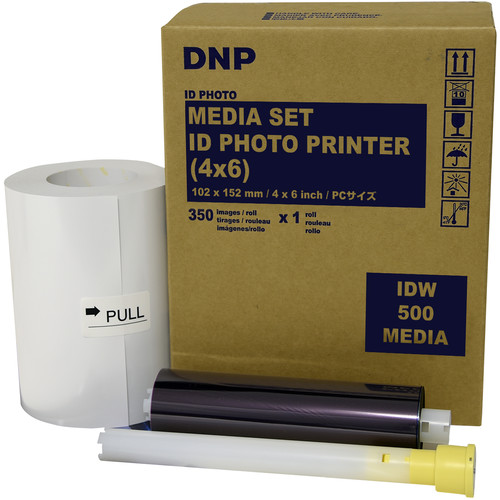 "DNP IDW500 Media Set (4 x 6"", 350 Prints)"