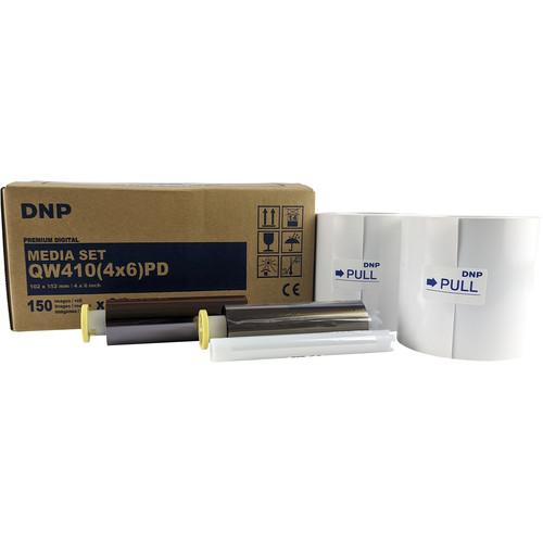 "DNP 4 x 6"" Media Set for DP-QW410 Professional Photo Printer"