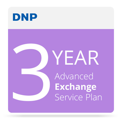 DNP 3-Year Advance Exchange Service Contract for DS80 Printer