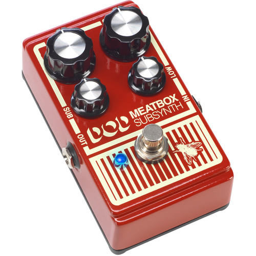 DOD Meatbox Sub Synth Pedal (2015)