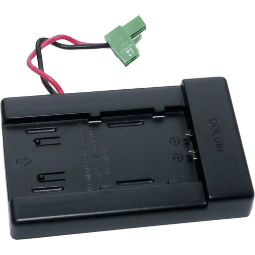 Dolgin Engineering Universal Charger Battery Plate for Panasonic VW-VBG6 Batteries
