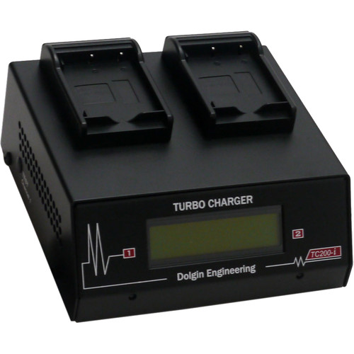 Dolgin Engineering Two-Position Charger for Fuji NP-W126S Batteries with USB Port and TDM