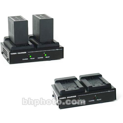 Dolgin Engineering TC200 Two-Position Simultaneous Battery Charger for Panasonic VBD58, VBR118G, VBR89G, VBR59P, and D54