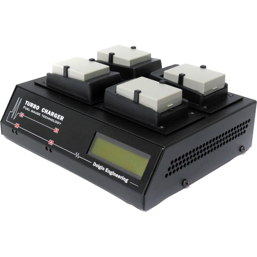 Dolgin Engineering TC400 Four Position Battery Charger for Canon LP-E8 Batteries