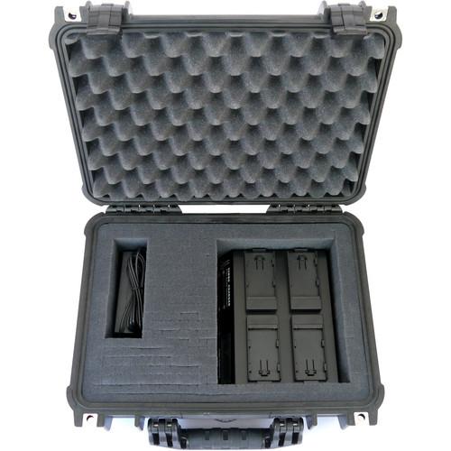 Dolgin Engineering On-The-Go TC400-DSLR-C Four Position Battery Charger Field Kit for Canon LP-E6 Batteries