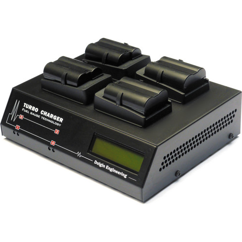 Dolgin Engineering TC400 Four Position Battery Charger for Nikon EN-EL15 Batteries