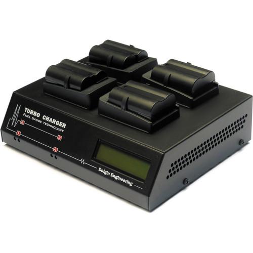 Dolgin Engineering TC400 Four Position Battery Charger with TDM for Nikon EN-EL15 Batteries