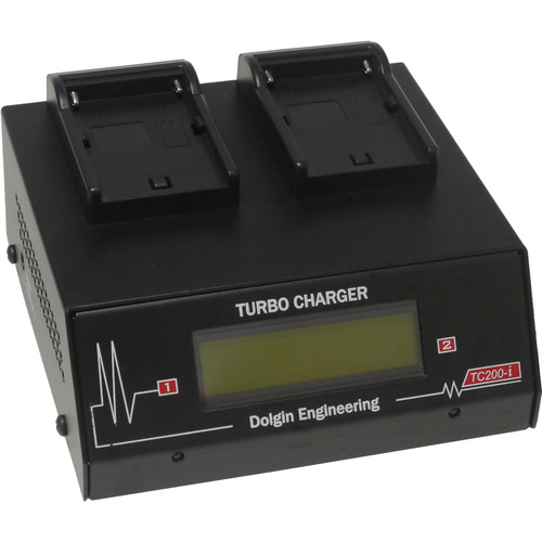 Dolgin Engineering TC200 Ultra-Fast Two-Position Battery Charger with Test Module for Sony NP-FM500H