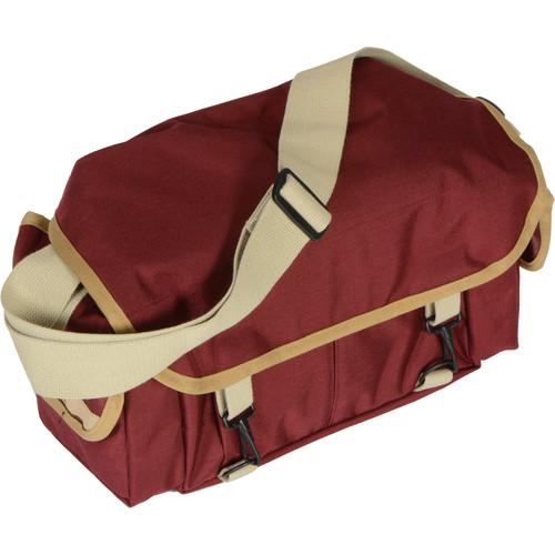 Domke F-2 Original Shoulder Bag (Bordeaux/Sandstone)