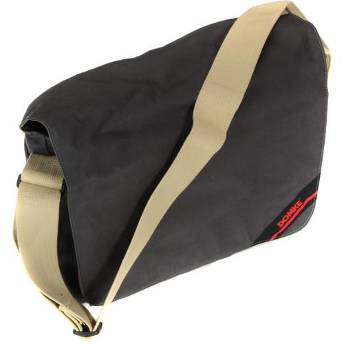 Domke Medium Messenger Bag (Briquette RuggedWear Waxed Canvas)