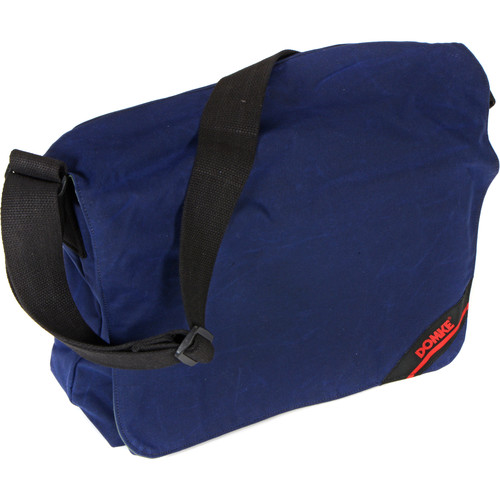 Domke Medium Messenger Bag (Navy RuggedWear Waxed Canvas)