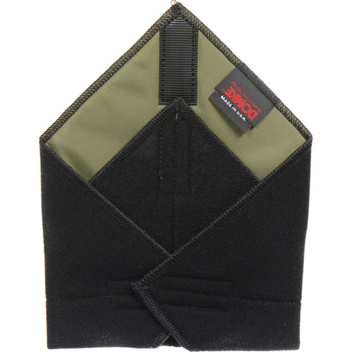 """Domke 11x11"""" Color Coded Protective Wrap (Black)"""