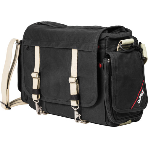 Domke Next Generation Metro Messenger Camera Bag (Black Ruggedwear)
