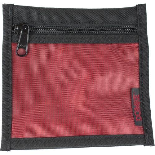 "Domke PocketFlex Mesh Front Zip Pouch - 5.5 x 5.5"""
