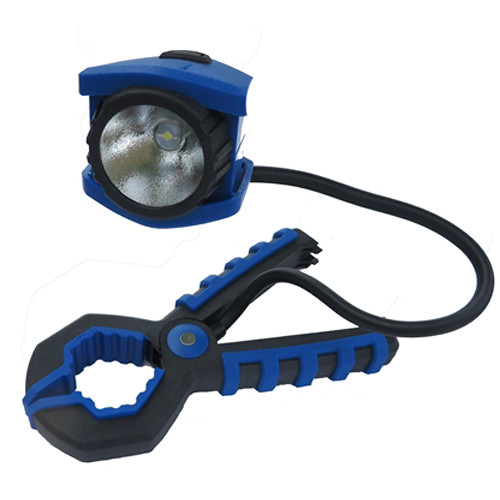 Dorcy 41-1251 Adjustable Clamp Light (Blue & Black)