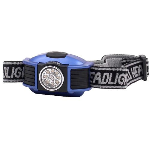 Dorcy 41-2093 42-Lumen LED Headlight (Blue/Black)