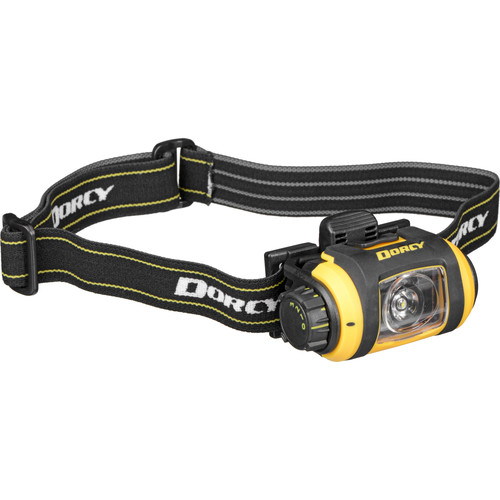 Dorcy 41-2612 Pro Series LED Headlight (Black / Yellow)