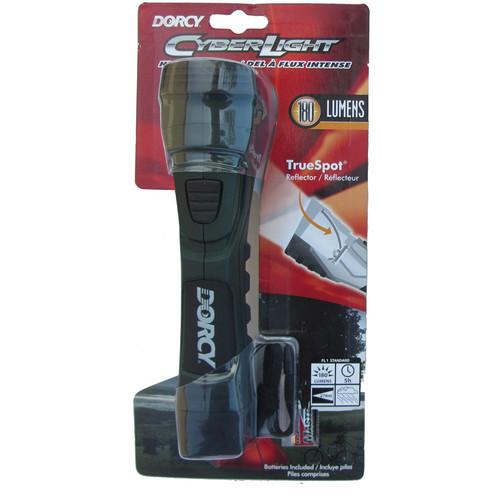 Dorcy Cyber Light 180 Lumen LED Flashlight (Forest Green)