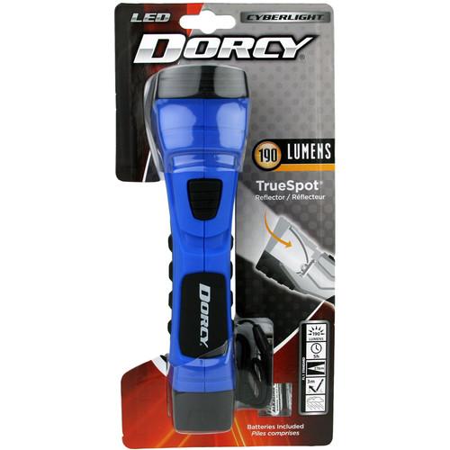 Dorcy Cyber Light 190 Lumen LED Flashlight (Blazin' Blue)