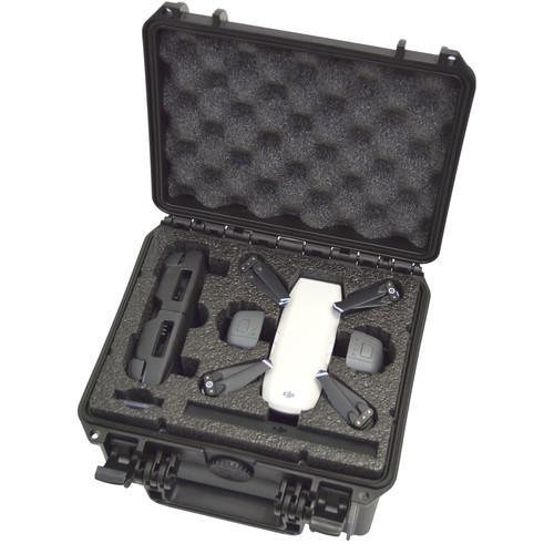 DORO Cases D0907-6 Hard Case with Custom Foam for DJI Spark Quadcopter
