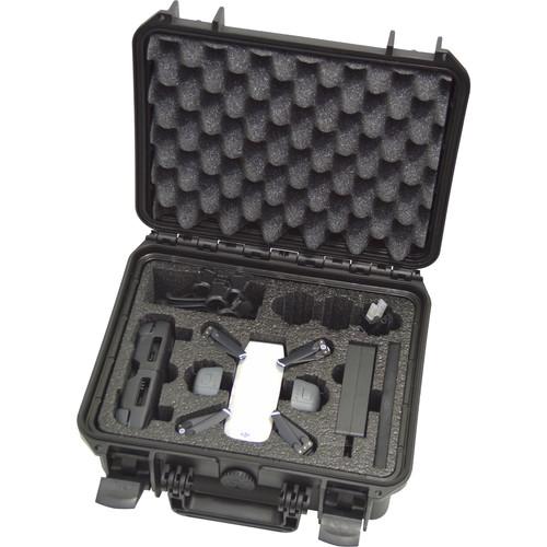 DORO Cases Hard Case with Custom Foam for DJI Spark Fly More Quadcopter