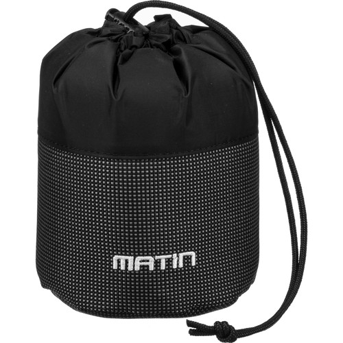 Dot Line Deluxe Lens Pouch Small (Black)