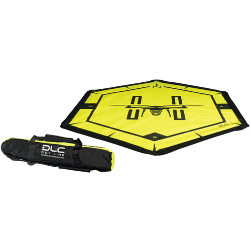 """Dot Line 50"""" Drone Pad With Carrying Case"""