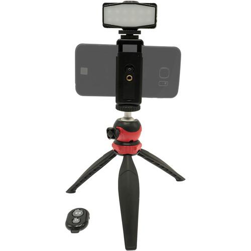 Dot Line Mini Tripod LED Traveler Kit
