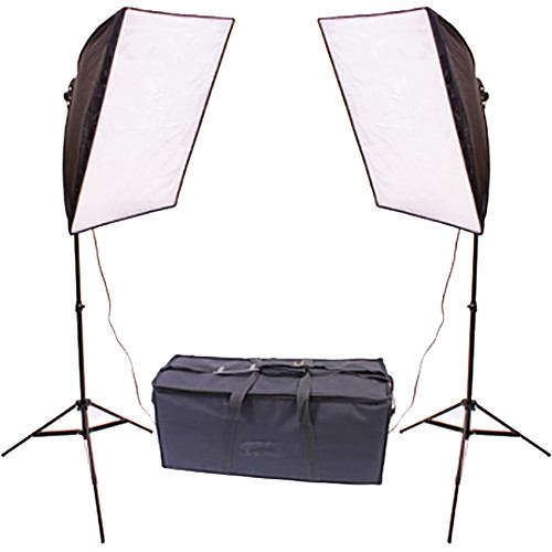 Dot Line RPS Studio Quick-Folding Softbox Fluorescent Kit