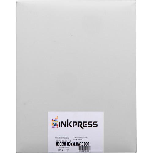 """Inkpress Media Regent Royal Hard Dot Camera Film (8 x 10"""", 50 Sheets)"""