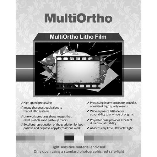 """Inkpress Media Regent Royal Hard Dot Camera Film (8.5 x 11"""", 50 Sheets)"""