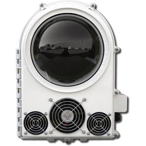 Dotworkz COOLDOME 24 VDC Active Cooling Camera Enclosure with Tinted Lens
