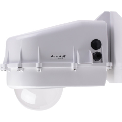 Dotworkz D2 High Efficiency Power Solar Tornado Camera Enclosure with Tinted Lens for Low Power Applications