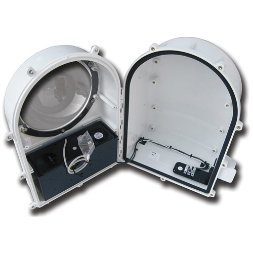 Dotworkz D2-HB-MVP-T Heater Blower Camera Enclosure with Multi Volt Platform (MVP) and Vandal Tough Tinted Lens