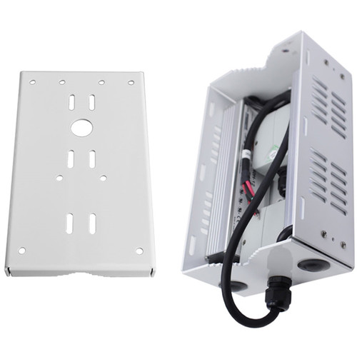 Dotworkz 12V Outdoor Pole-Mount Power-Pack Kit with Back Bracket for D2 COOLDOME Camera Enclosure