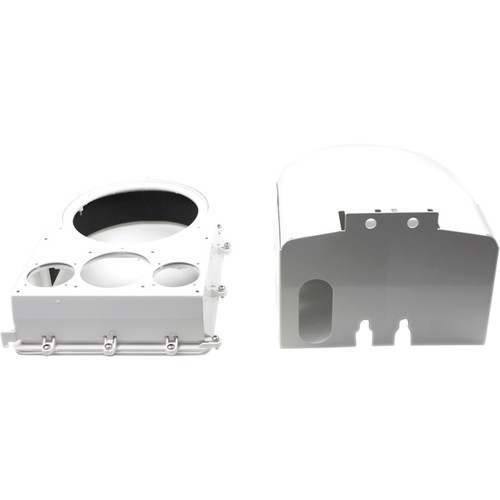 Dotworkz Ballistic Shield for a D2 COOLDOME Camera Enclosure (16-Gauge Protection)