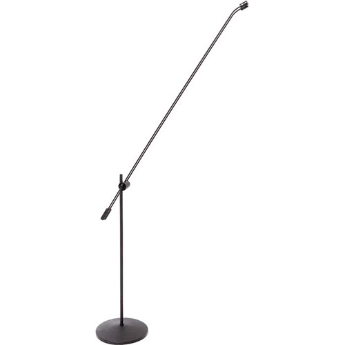 DPA Microphones 4018FGT Supercardioid Microphone with Twin 120cm Floor Boom Stand