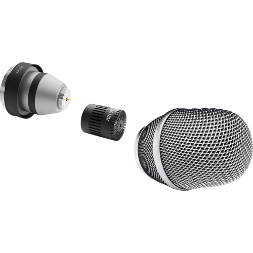 DPA Microphones d:facto 4018V Softboost Supercardioid Microphone with SE2 Wireless Adapter (Nickel)